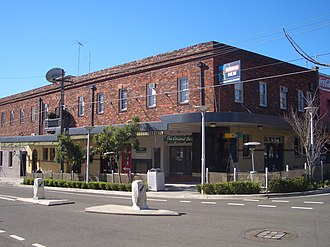 Concord West, New South Wales - Image: Concord West Pub