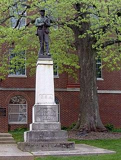 Confederate Monument in Glasgow