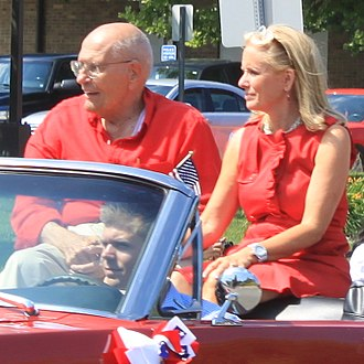 Debbie Dingell - Dingell with her husband John in 2011