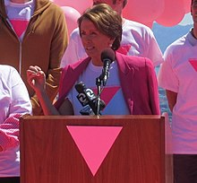 Lgbt Community  Wikipedia Congresswoman Pelosi At The Friends Of The Pink Triangle Ceremony Essay About Good Health also Healthy Eating Habits Essay  Help With Academic Writing