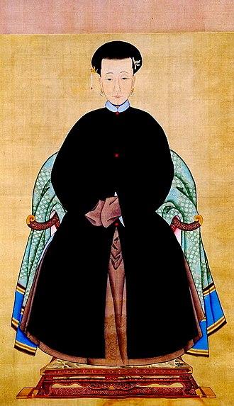 Empress Xiaoyiren - Image: Consort to Kangxi