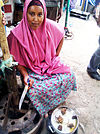 Cooked fish vendor in Hargeisa, Somaliland (5850895870) (2).jpg