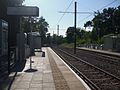 Coombe Lane tramstop look west.JPG