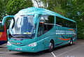 Coopers Scania Irizar coach 802 KRO Metrocentre rally 2009 pic 1.JPG