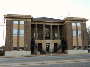 Rockford, Alabama - Image: Coosa County Alabama Courthouse