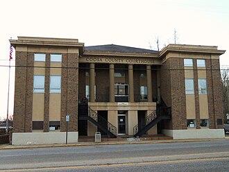 Rockford, Alabama - Image: Coosa County Alabama Courthouse