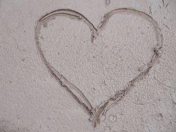 Corazón hecho de barro