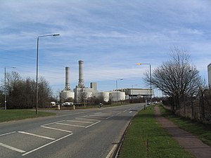 Corby - Corby's CCGT power station