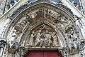 Coronation of Mary, Portal, Notre-Dame, Paris 29 May 2009 002.jpg