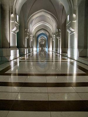 Al Alam Palace - Image: Corridor at Al Alam Palace Muscat