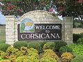 Corsicana, TX, welcome sign IMG 0663.JPG