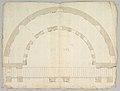 Cortile del Belvedere, Upper Courtyard, stair, plan (recto) blank (verso) MET DP819291.jpg