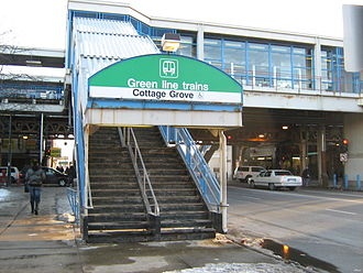 Cottage Grove station - Image: Cottage Grove