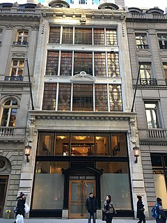 Coty Building Historic building in Manhattan, New York