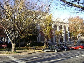Clarke County, Georgia - Image: County Courthouse and Judicial Center in Athens