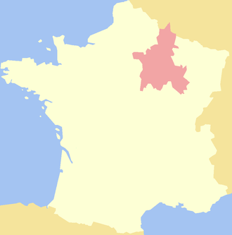 Champagne (province) - Image: County of Champagne