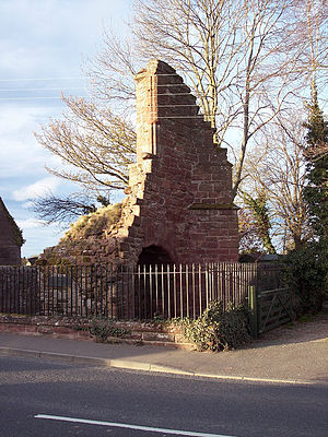 Coupar Angus Abbey - The only surviving remains of the abbey, supposedly the gatehouse
