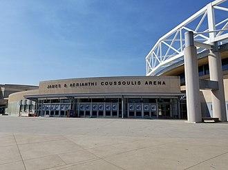 Coussoulis Arena - Image: Coussoulis Arena (Cal State San Bernardino)