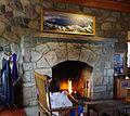 Crater Lake Lodge fireplace 2013 - Oregon.JPG
