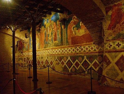 Cripta de la catedral de Siena