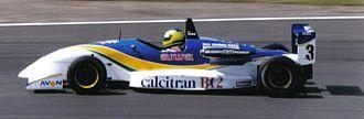 Cristiano da Matta - Da Matta driving for West Surrey Racing at Silverstone during the 1995 British Formula 3 Championship season.