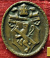 Cristoforo di geremia, medaglia di paolo II, verso con scudo barbo.JPG