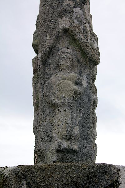 Croix de cimetière (Grand-Champ): personnage 4