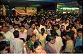Crowd - Dinosaurs Alive Exhibition - Science City - Calcutta 1995-June-July 532.JPG