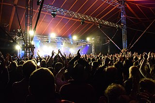 Towersey Festival performing arts festival in Oxfordshire, England