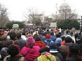 Crowds for the 2013 second inauguration of Barack Obama.jpg