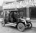 Croxton-Keeton taxi cab for Walden W Shaw Auto Livery Co (1910).jpg