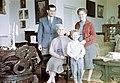 Családi portré, 1959. Fortepan 15544.jpg