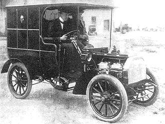 Ganz Works - Csonka automobile of 1905