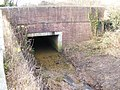 Culvert under the A145 London Road, Weston - geograph.org.uk - 1142621.jpg