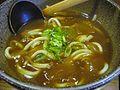Curry udon by sun summer in Yurakucho, Tokyo.jpg