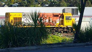 New Zealand DB class locomotive - DBR 1267 at Whangarei