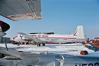 Northern Air Cargo - The NAC DC-6 that crashed on 20 July 1996, April 1985