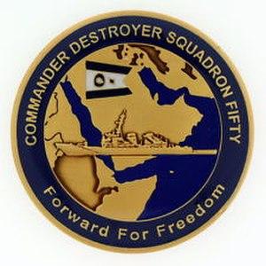 Destroyer Squadron 50 - Image: DESRON 50