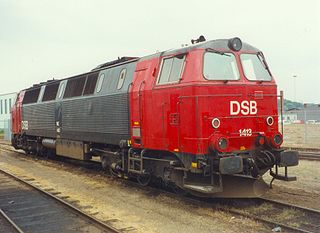 DSB Class MZ Danish railways diesel-electric locomotive