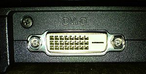 Computer port (hardware) - Image: DVI D