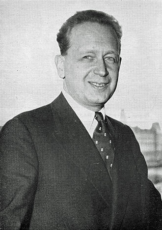 Secretary-General of the United Nations - Image: Dag Hammarskjöld