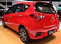 Daihatsu Sirion 1.3 - Indonesia International Motor Show 2018 - Rear view - April 26 2018.jpg