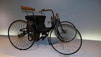 Daimler Stahlradwagen - Daimler Stahlradwagen, 1899