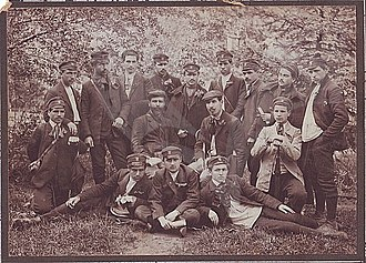 Dame Gruev - Gruev and his Students from Bulgarian school in Shtip in 1894.