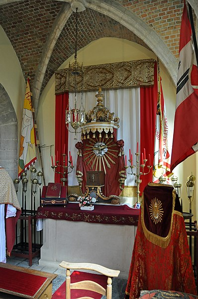 Damme (West Flanders, Belgium): St Mary's church, Sacrament's chapel