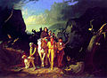 Daniel Boone Escorting Settlers Through the Cumberland Gap by George Caleb Bingham 1851-52.jpg