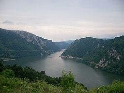 Jernporten, på grænsen mellem Rumænien og Serbien.