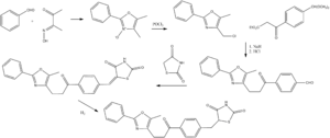 Darglitazone - Synthesis of darglitazone