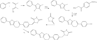 Darglitazone - Synthesis of darglitazone