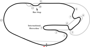 USAC Daytona 100 - The IndyCar Series test utilized a modified version of the motorcycle short course.